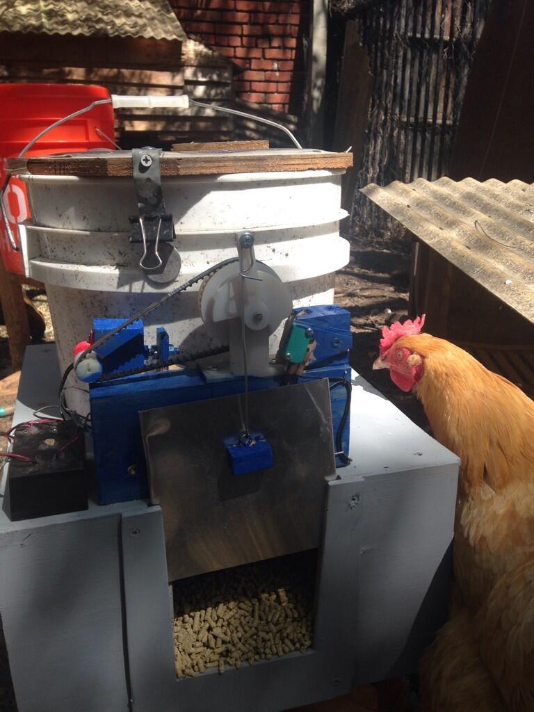 Chicken Feeder, Mk. 2