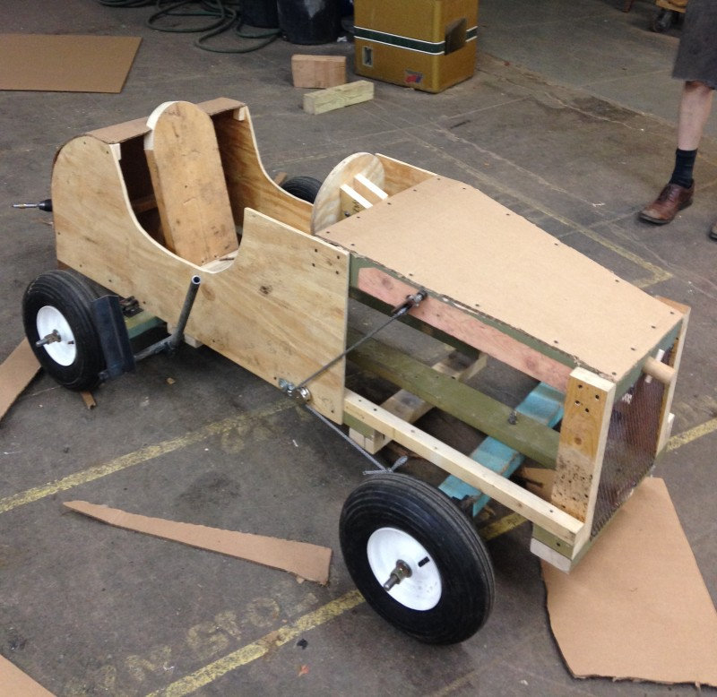 Scrap Box Derby Car